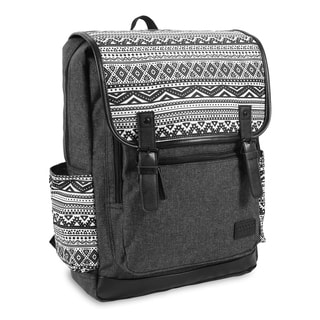 J World New York Franklin Tribal 15-inch Laptop Backpack