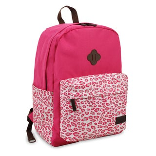 J World New York Fuse Leopard 15-inch Laptop Backpack