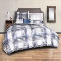 Sydney Plaid 8-Piece Bed in a Bag with Sheet Set