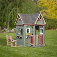 Shop Backyard Discovery Pembrook Outdoor Wooden Playhouse Free