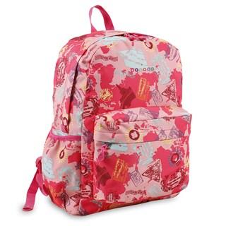 J World New York OZ Pink Atlas 15-inch Laptop Backpack