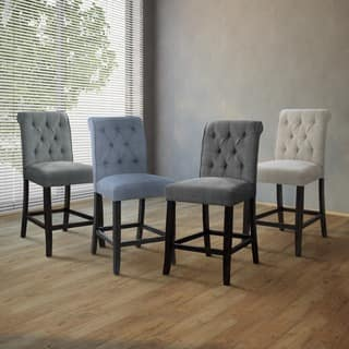 Safavieh Nrah Light Grey Counterstool Set Of 2 Free