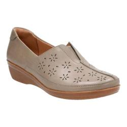 Women's Clarks Everlay Dairyn Loafer Sage Cow Full Grain Leather