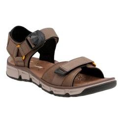 Men's Clarks Explore Part Walking Sandal Mushroom Nubuck Leather (More options available)