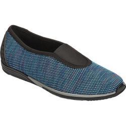 Women's Aerosoles Upper Level Slip On Shoe Blue Combo Fabric