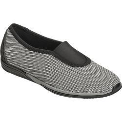 Women's Aerosoles Upper Level Slip On Shoe Grey Combo Fabric