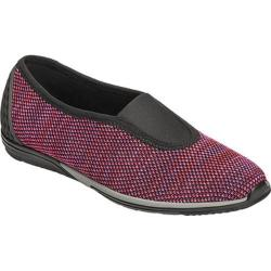 Women's Aerosoles Upper Level Slip On Shoe Pink Combo Fabric