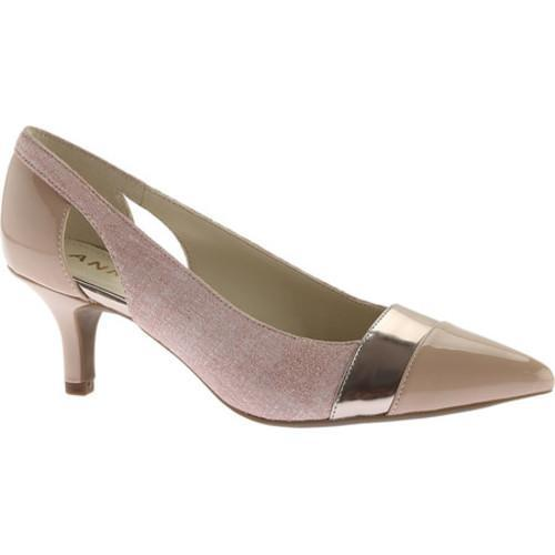 Women's Anne Klein Firstclass Pointed Toe Pump Light Pink/Multi Leather