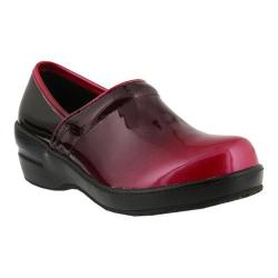 Women's Spring Step Neppie Clog Fuchsia Ombre Synthetic Patent