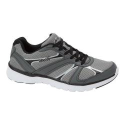 Men's Avia Avi-Modus Running Sneaker Frost Grey/Iron Grey/Black/Chrome Silver