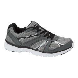Men's Avia Avi-Modus Running Sneaker Frost Grey/Iron Grey/Black/Chrome Silver