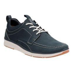 Men's Clarks Orson Bay Moc Toe Sneaker Navy Nubuck