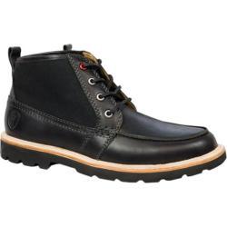 Men's Boston Boot Co. Cambridge Chukka Boot Black Canvas