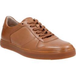 Men's Clarks Calderon Speed Sneaker Tan Cow Full Grain Leather