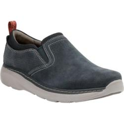 Men's Clarks Charton Free Slip-On Sneaker Navy Cow Full Grain Leather/Cow Nubuck