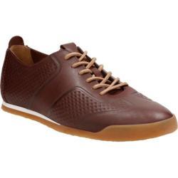 Men's Clarks Siddal Sport Sneaker Chestnut Cow Full Grain Leather