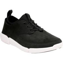 Men's Clarks Triflow Form Sneaker Black Nubuck