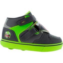 Children's Heelys Tornado X2 Roller Shoe Dark Grey/Light Grey/Green