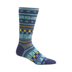 Men's Ozone Hamil Stripe Socks (2 Pairs) Navy