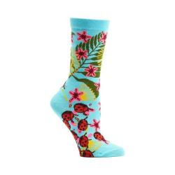 Women's Ozone Insect Warrior Crew Socks (2 Pairs) Blue