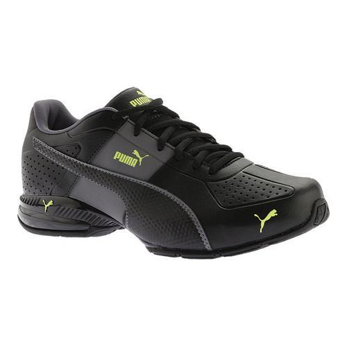 a78d39155340 Shop Men s PUMA Cell Surin 2 FM Sneaker PUMA Black Quiet Shade Safety  Yellow - Free Shipping Today - Overstock - 14283795