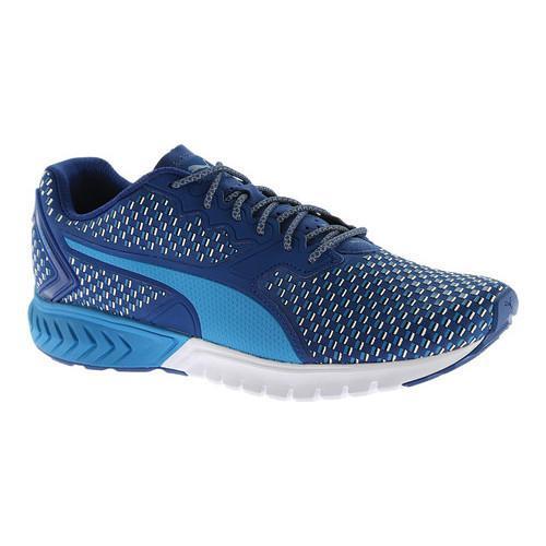 Men's PUMA Ignite Dual Shift Running Shoe Blue Danube/True Blue