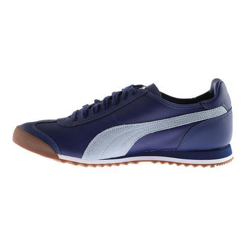 fc41aec9aef000 ... Thumbnail Men  x27 s PUMA Roma OG 80s Sneaker Twilight Blue Blue Fog