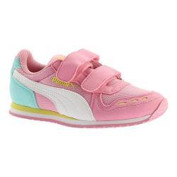 Girls' PUMA Cabana Racer Mesh V PS Sneaker Prism Pink/PUMA White