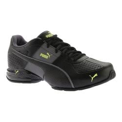 Men's PUMA Cell Surin 2 FM Sneaker PUMA Black/Quiet Shade/Safety Yellow