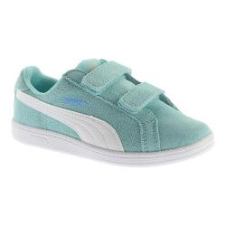 Girls' PUMA Smash Fun SD V PS Sneaker Aruba Blue/PUMA White