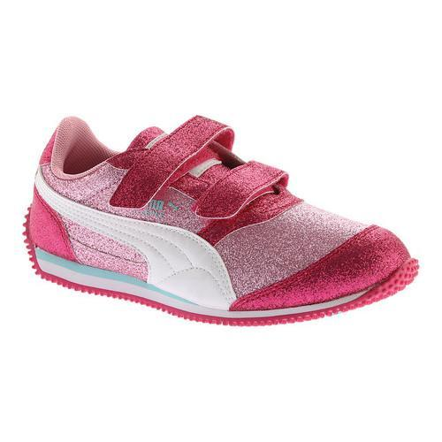 930db361bb0 Girls  x27  PUMA Steeple Glitz Glam V PS Sneaker Prism Pink PUMA White
