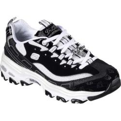 Women's Skechers D'Lites Be Dazzling Sneaker Black/White