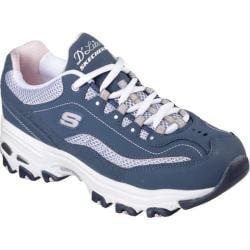 Women's Skechers D'lites Life Saver Sneaker Navy/White