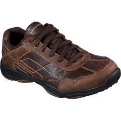 Men's Skechers Larson Havon Sneaker Dark Brown