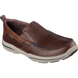 Men's Skechers Relaxed Fit Harper Forde Loafer Chocolate