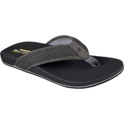 Men's Skechers Relaxed Fit Pelem Emiro Flip-Flop Gray