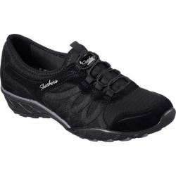 Women's Skechers Relaxed Fit Savvy Baroness Wedge Sneaker Black