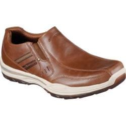 Men's Skechers Skech-Air Elment Brencen Slip-On Cognac