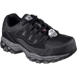 Men's Skechers Work Holdredge Steel Toe Sneaker Black