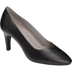 Women's A2 by Aerosoles Expert Pump Black Faux Leather