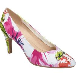 Women's A2 by Aerosoles Expert Pump Floral Combo Floral Printed Fabric