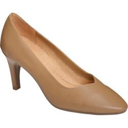 Women's A2 by Aerosoles Expert Pump Nude Faux Leather