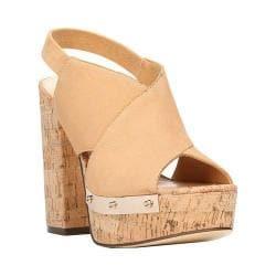 Women's Fergie Footwear Lunar Platform Sandal Kork Suede