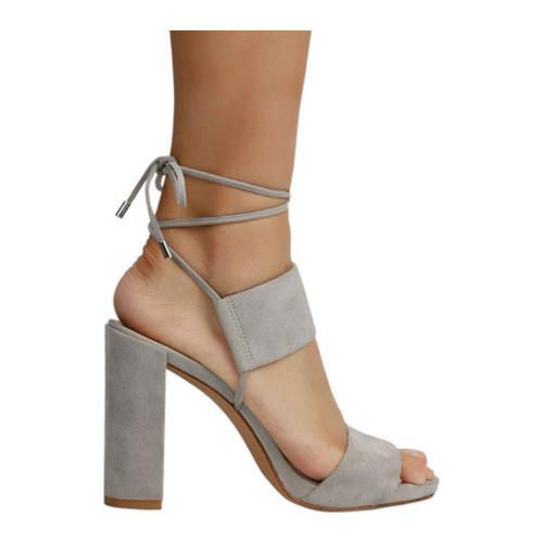 becc2428aea Shop Women s Kenneth Cole New York Dess Block Heel Sandal Light Grey Suede  - Free Shipping Today - Overstock - 14298127