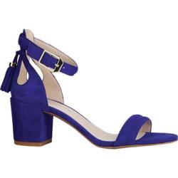Women's Kenneth Cole New York Harriet Ankle Strap Sandal Electric Blue Suede