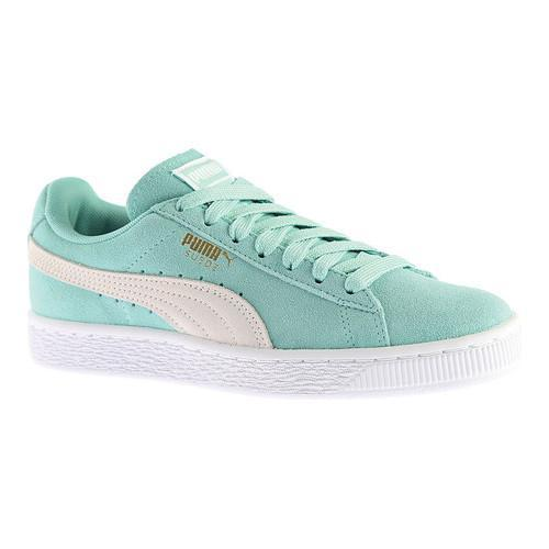 512ff7342d5 Shop Women s PUMA Suede Classic Holiday White - Free Shipping Today -  Overstock - 14298159