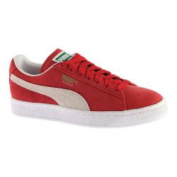 Men's PUMA Suede Classic Eco Team Regal Red/White