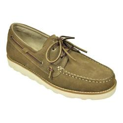 Men's Rugged Shark Wheelhouse Tan Suede
