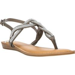 Women's Fergalicious Shade Slingback Sandal Grey Calf PU