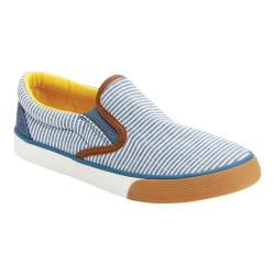 Boys' Hanna Andersson Oskar 3 Slip-On Shoe Foggy Blue Canvas